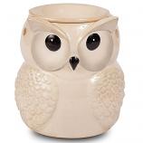 Winter White Owl Electric Tart Burners