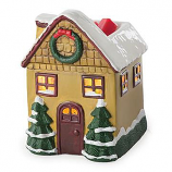 Christmas Cottage Tart Burner