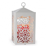Scroll Lantern Candle Warmer White