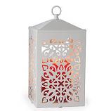 Scroll Lantern Candle Warmer White