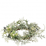 Dusty Miller 4.5 Inch Candle Ring