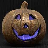Happy LED Jack O Lantern