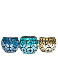 Primavera Votive Cups Assorted Colors