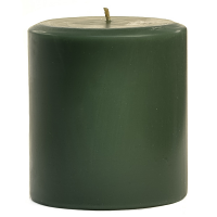 4 x 4 Tuscan Herb Pillar Candles