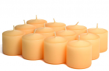 Unscented Peach Votive Candles 15 Hour